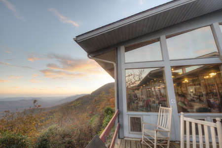 Pisgah Inn in Blue Ridge Mountains Stock Photo - 16287090