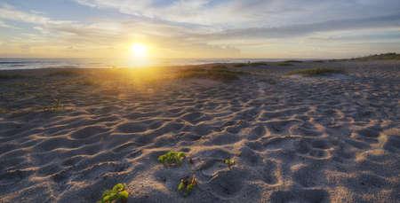 Sunrise in Indialantic Beach Stock Photo - 16693930