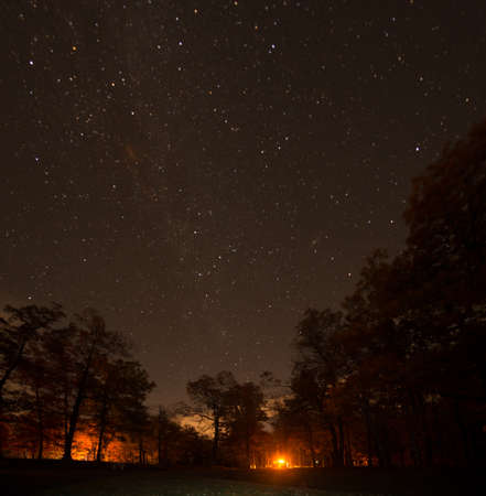 Night Sky in North Carolina Stock Photo - 16693887