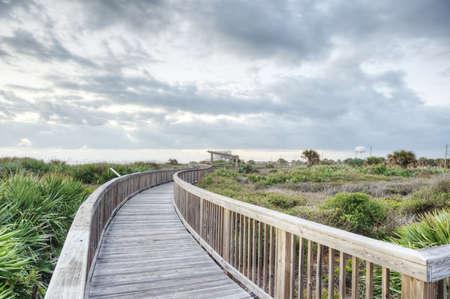 Sunrise in Satellite Beach, Florida Reklamní fotografie
