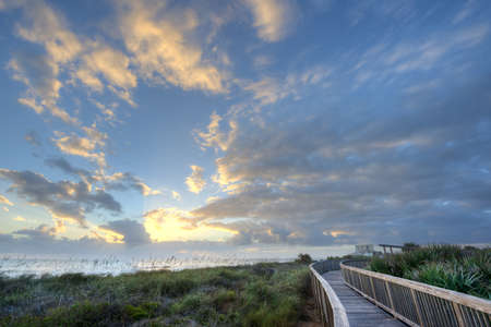 Sunrise in Satellite Beach, Florida Stock Photo - 16693917