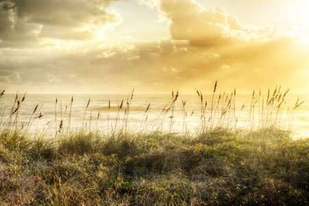 Sunrise in Satellite Beach, Florida Stock Photo - 16693897