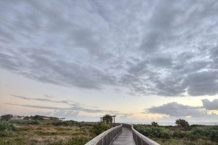 Sunrise in Satellite Beach Stock Photo - 16693927