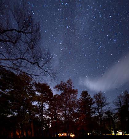 Night Sky in North Carolina Stock Photo - 16693899