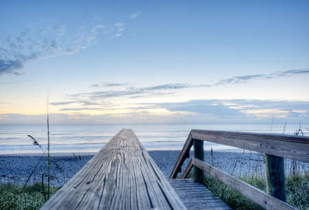 Indian Harbour Beach Stock Photo - 17300817