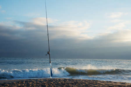 Fishing at Canaveral National Seashore photo