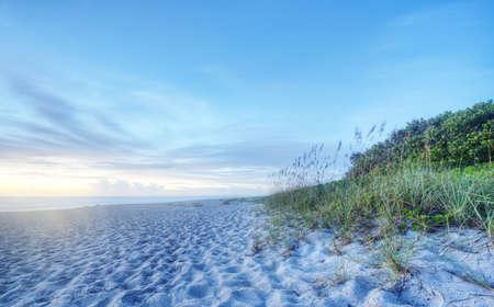 Sunrise in Indialantic, Florida Stock Photo - 17300890