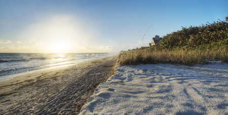 Beach in Sebastian, Florida Stock Photo - 17300883