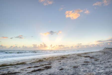 Beach in Sebastian, Florida Stock Photo - 17300889