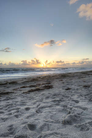 Beach in Sebastian, Florida Stock Photo - 17300867