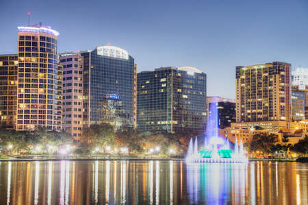 Orlando at Night Stock Photo - 17788913