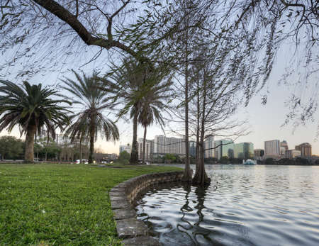 Lake Eola in Orlando Stock Photo - 17788912