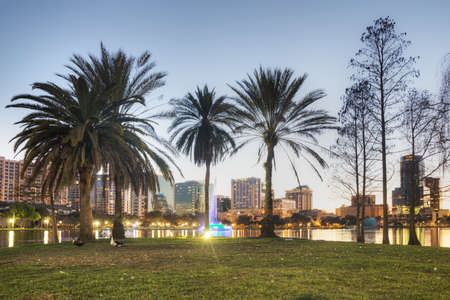 Lake Eola Park in Orlando Stock Photo - 17788918