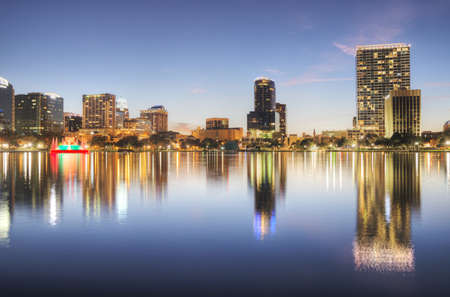 Orlando at Lake Eola Stock Photo - 17788910