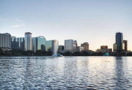 Orlando at Lake Eola Stock Photo - 17788909