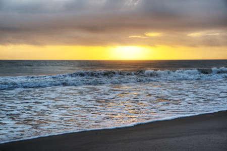 Sunrise at Canaveral National Seashore Stock Photo - 18089275