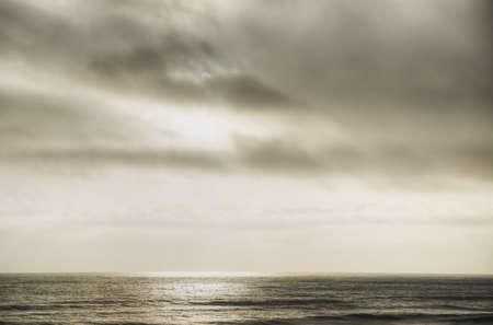 Storm Over Ocean Stock Photo - 18089258
