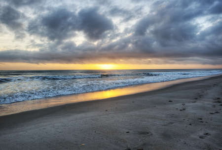 Sunrise at Canaveral National Seashore photo