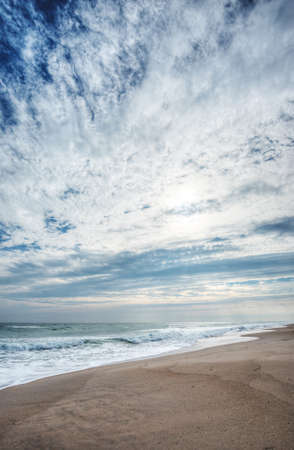 Canaveral National Seashore in Florida Stock Photo - 18445326
