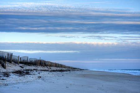 cape canaveral: Morning at Canaveral National Seashore Stock Photo