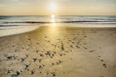 Melbourne Beach in Florida Stock Photo - 18656225