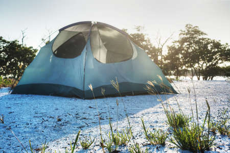 Camping in the Everglades Stock Photo - 19502515