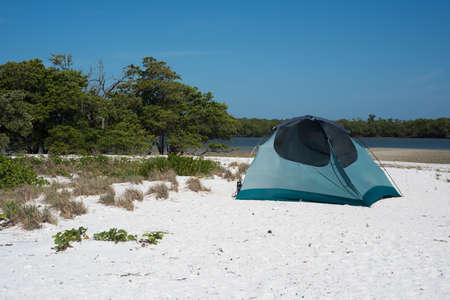 Camping in the Everglades Stock Photo - 19502699
