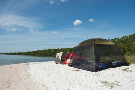 Camping in the Everglades photo