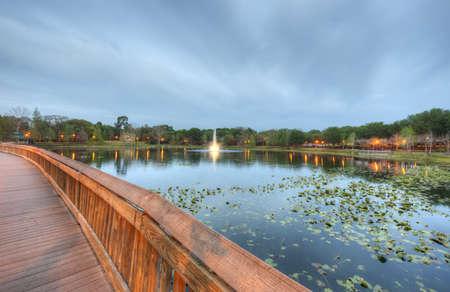 Lake Lily in Maitland, Florida Stock Photo - 19502710
