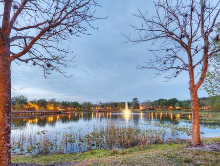 Lake Lily in Maitland, Florida Stock Photo - 19502802