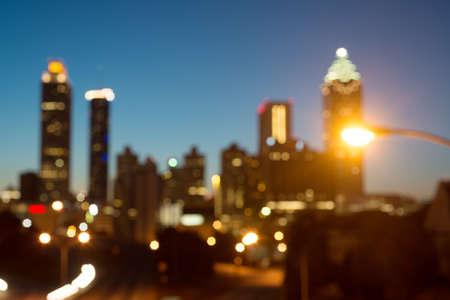 Atlanta Blur Stock Photo - 20365087