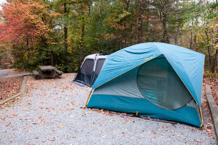 Camping in North Carolina Stock Photo - 20365076