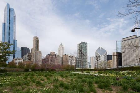 Grant Park in Chicago Stock Photo - 20365048