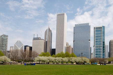Grant Park in Chicago Stock Photo - 20359994