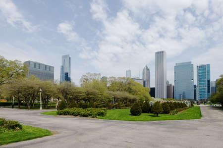 Grant Park in Chicago Stock Photo - 20365046