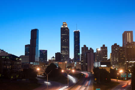 Atlanta at Night Stock Photo - 20365091