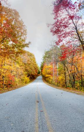 Road Through the Blue Ridge Mountains Stock Photo - 20359341