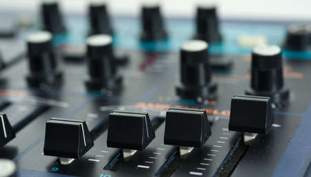 Close up of Vintage Synth Stock Photo - 20365085