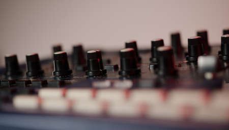 Close up of Vintage Synth Stock Photo - 20365056
