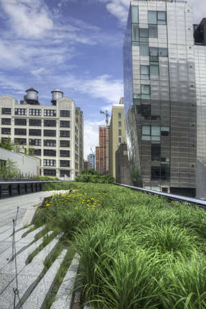 High Line in New York City Stock Photo - 20862236