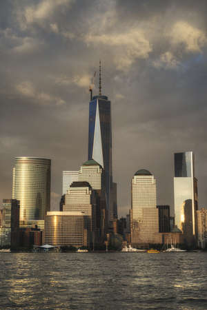 Manhattan Skyline in NYC Stock Photo - 20850055