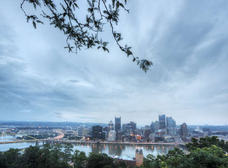 Pittsburgh in the Morning Stock Photo - 21058697