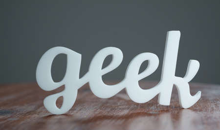 Geek Stock Photo - 21184949