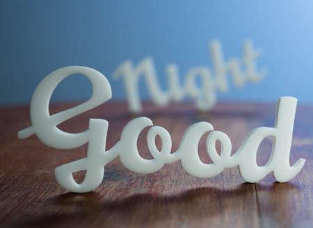 buonanotte: Buonanotte Archivio Fotografico