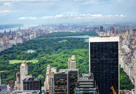View of Central Park Stock Photo - 21785528