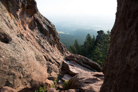 View of Boulder from Hiking Trail Stock Photo - 22083552