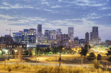 Denver in the Morning Stock Photo - 21983273