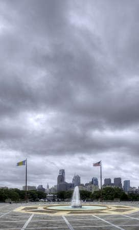 View of Philadelphia Skyline Stock Photo - 22083576