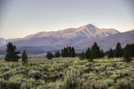 Morning in the Colorado Rockies Stock Photo - 21889467