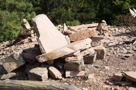 Rock Furniture Stock Photo - 21889476
